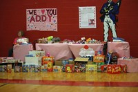 Donated Snacks Fulfills Student's Request