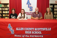Whitney Signs with Campbellsville