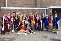 Axis Winter Guard Places First