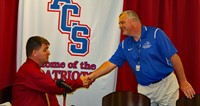 "Coach ""C"" Takes Reigns of Patriot basketball."