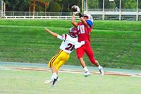 Patriots Defeat Trojans 48-7