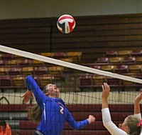 Lady Patriot Volleyball Improves to 4-0 in District