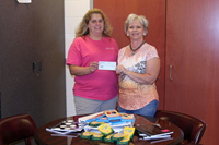 Retired Teachers Make Donation