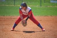 softball player third base