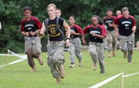 JROTC Raider event