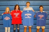 athletes of the month August 2018