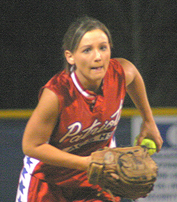 Pitcher Ashley Stovall