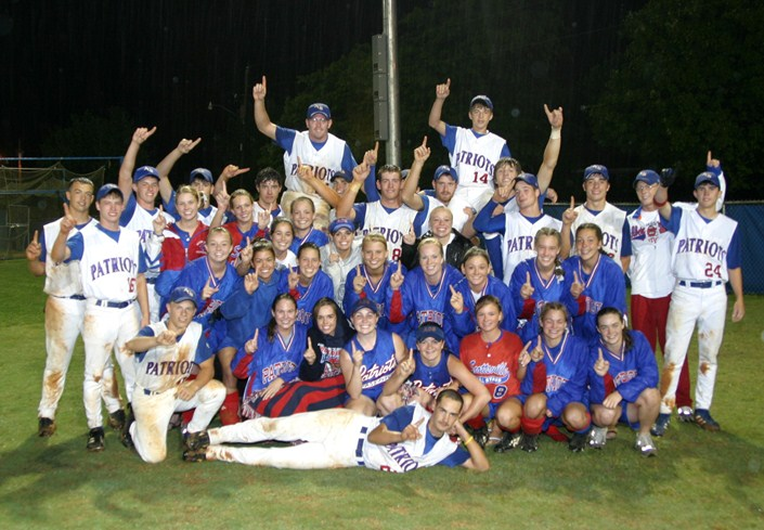 2005 Lady Patriots and Patriots Regional Softball and Baseball Champions