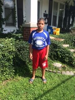 My 7th Grade Patriot Football Player! Patriot Pride