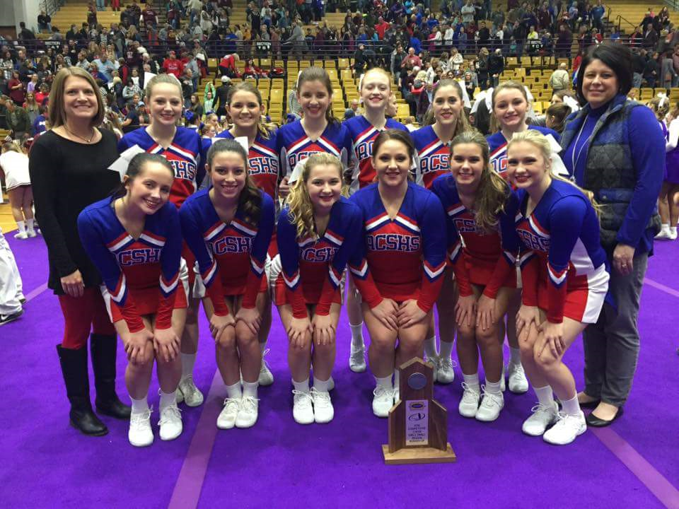 Cheer Squad-Small School Regional Runnerup 2017