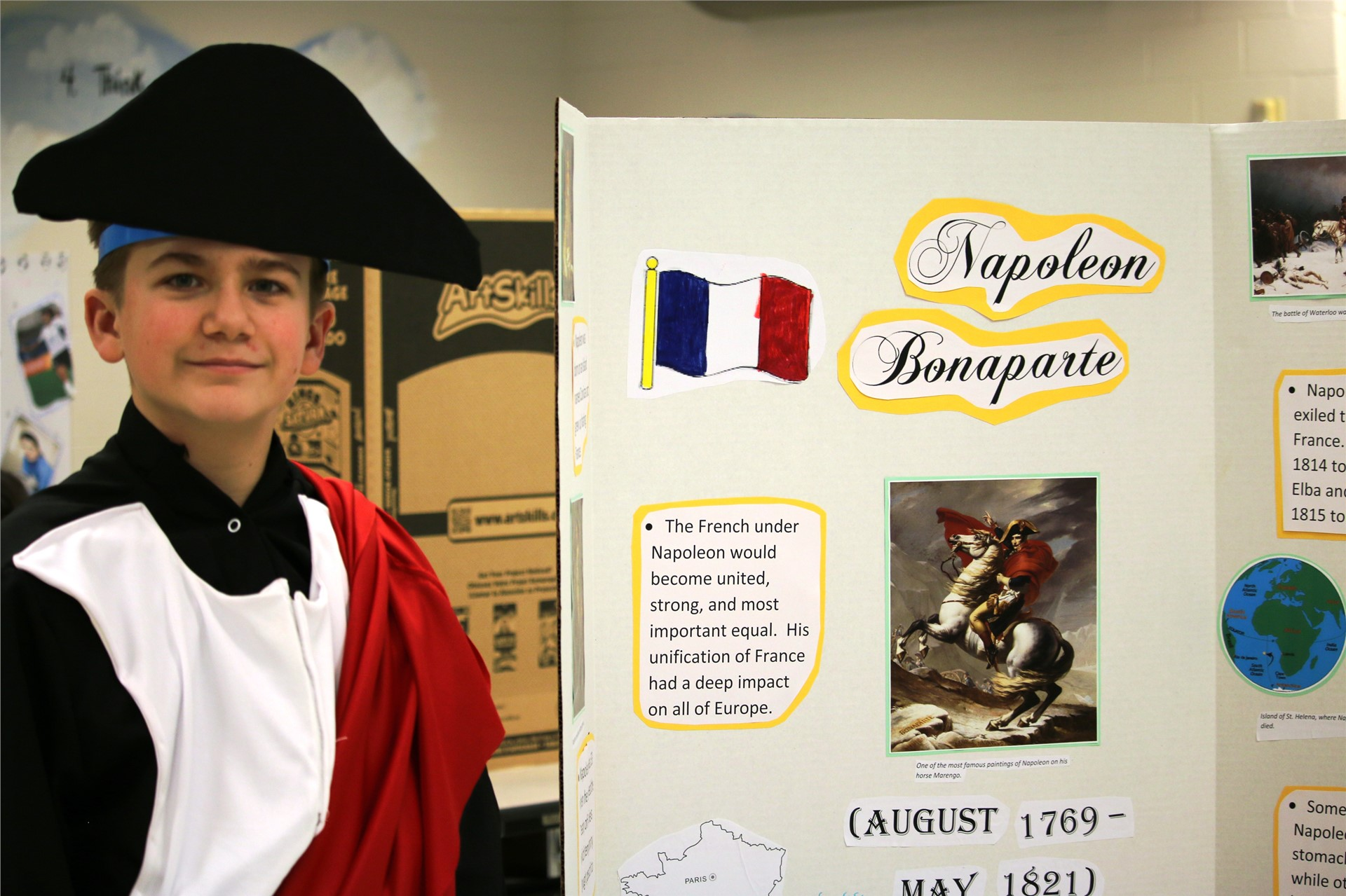 ACIC student shares history from the late 18th Century.