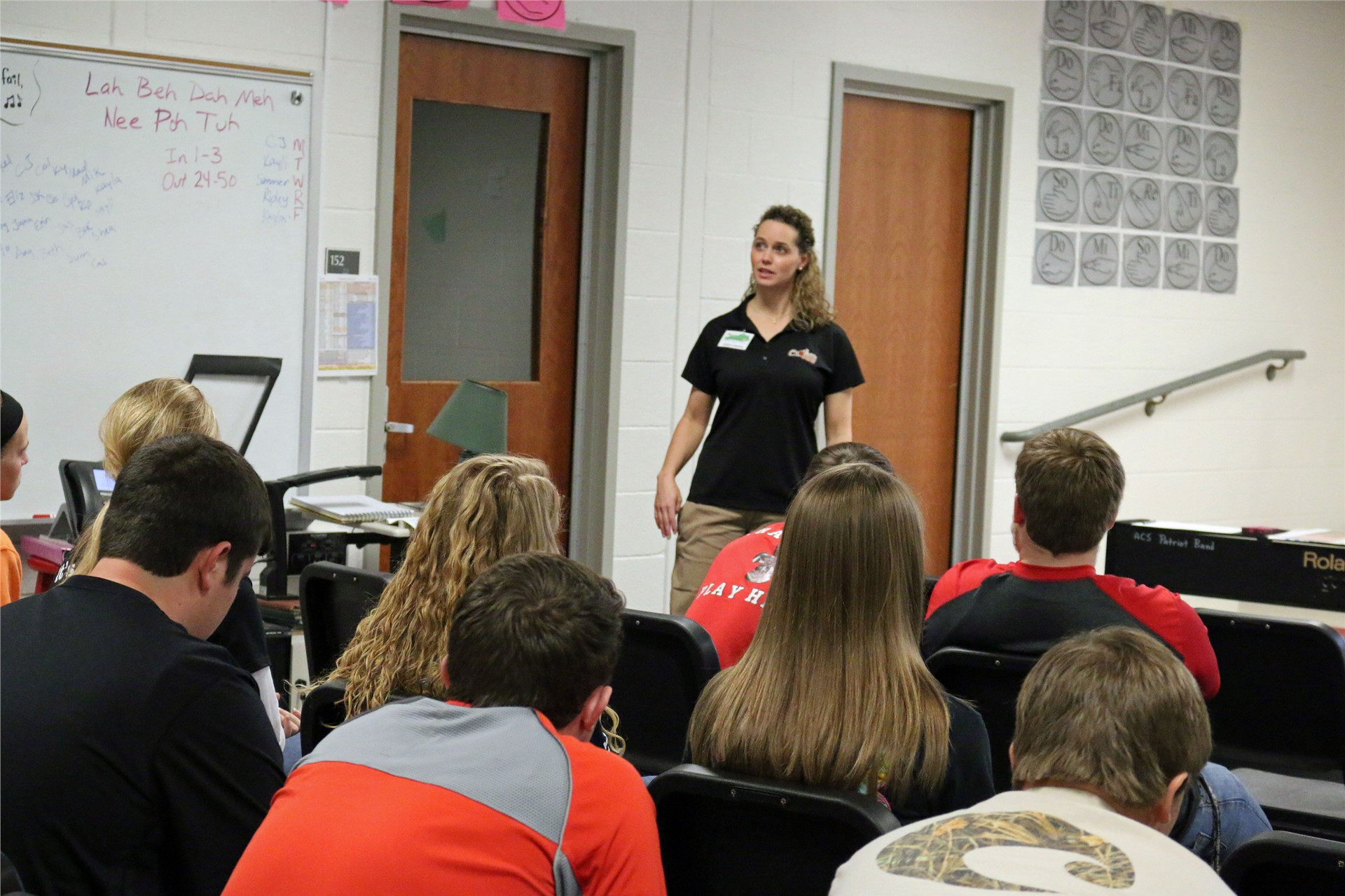 Sophomores learn about business during Operation Preparation