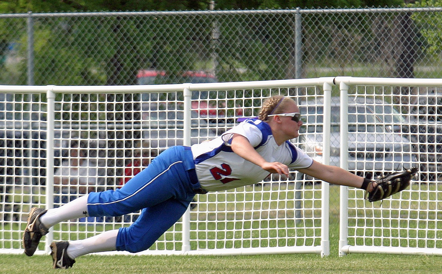 Allison Pedigo at state tournament in 2011.