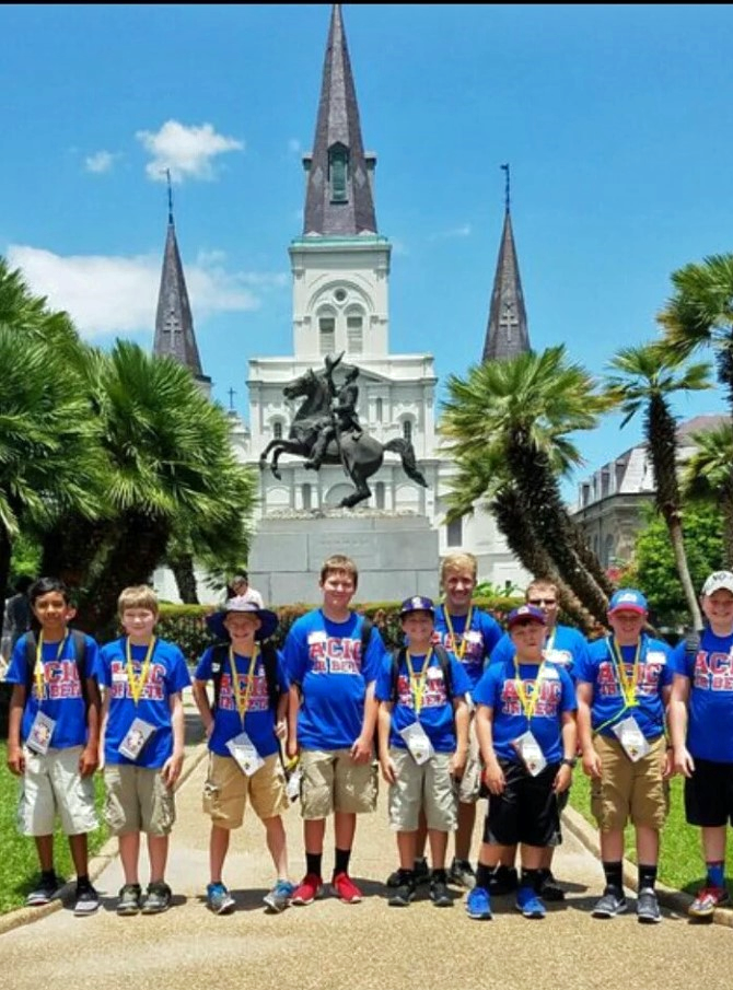 Junior Beta at National Convention in New Orleans