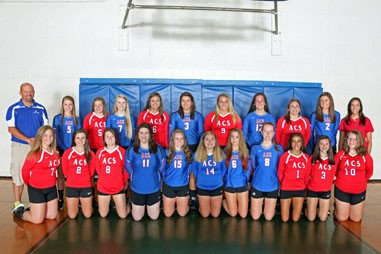 2016 Lady Patriot Volleyball