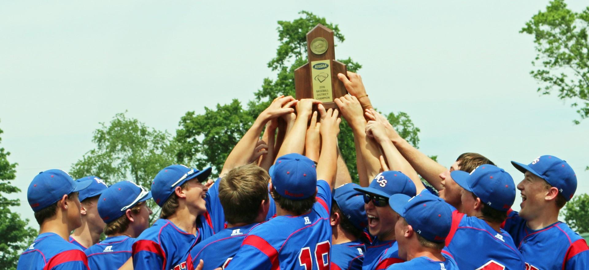 Patriot Baseball District Champions 2016