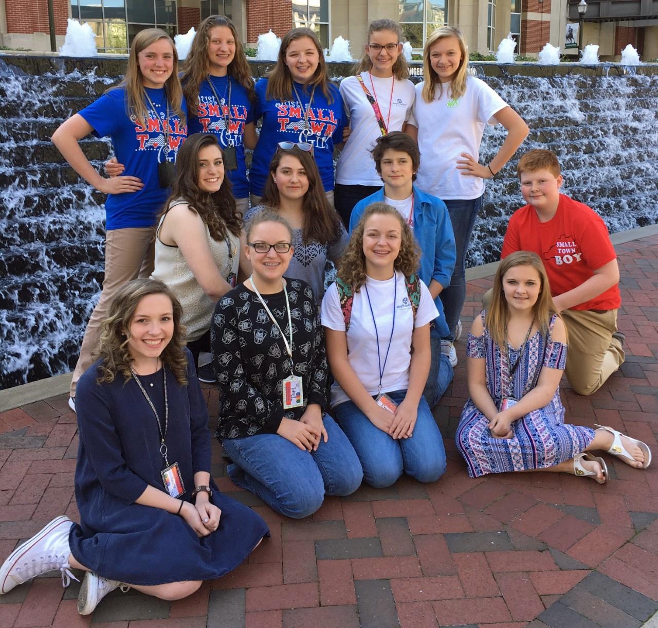 2017 STLP Students