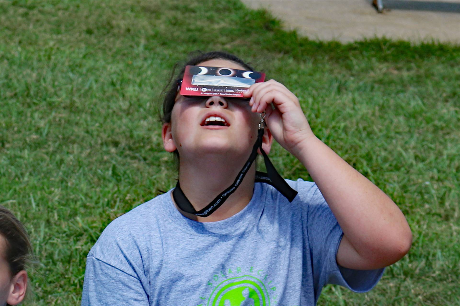 Watching the Solar Eclispe on August 21, 2017.
