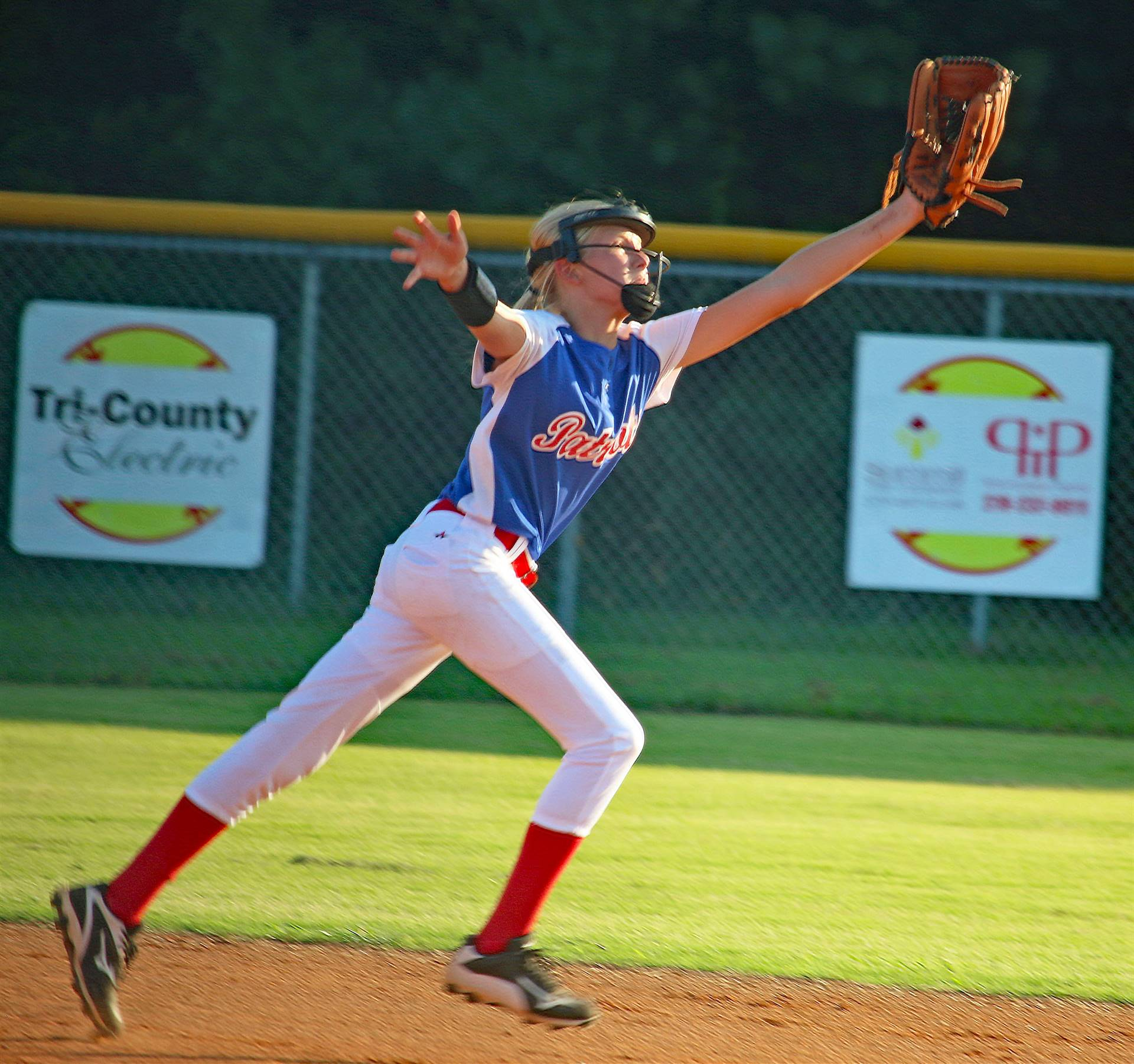 Lady patriot Softball 8-21-17