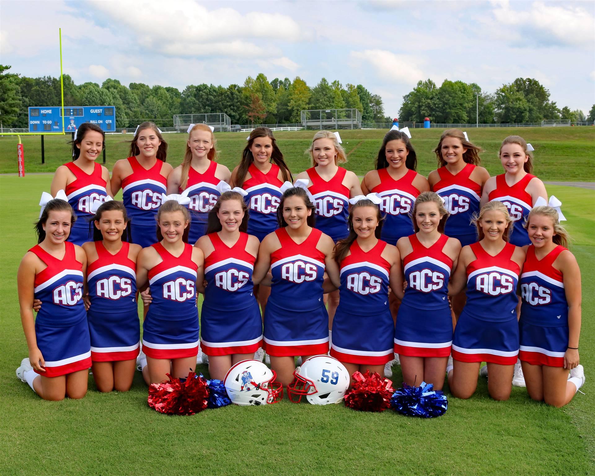 Football Cheerleaders 2017
