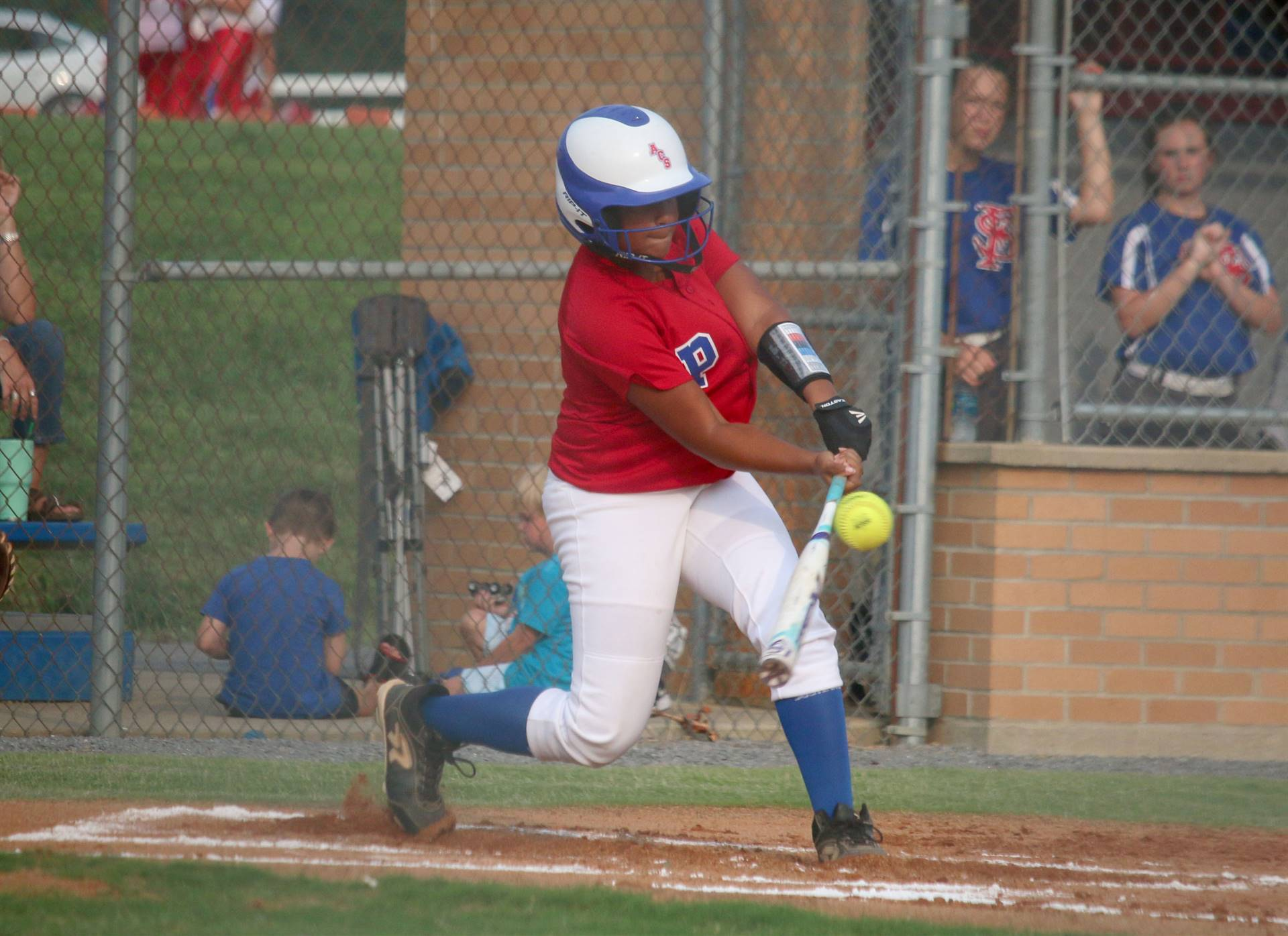 softball hitter