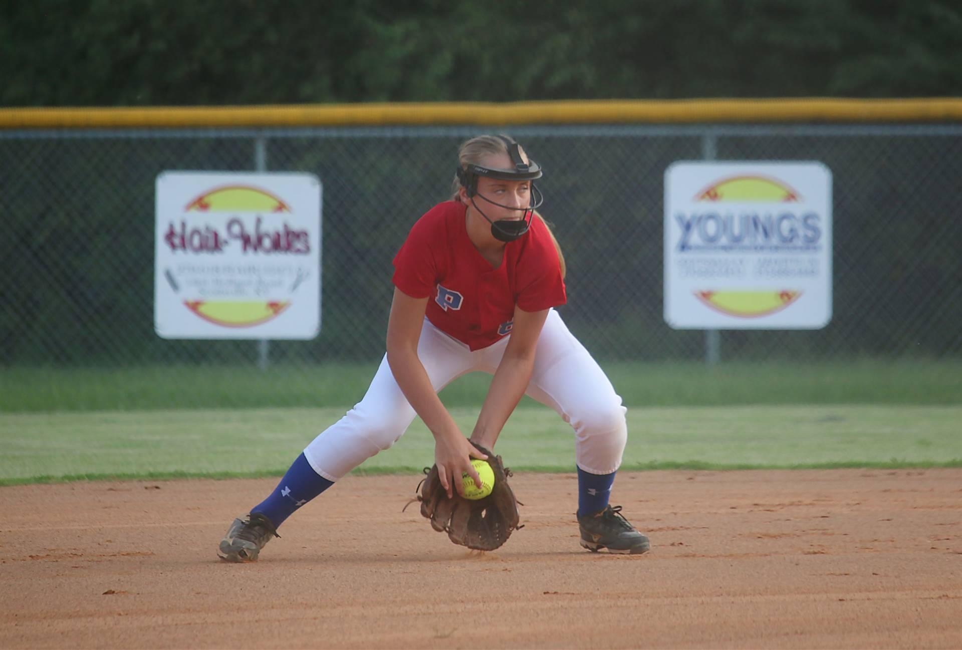 softball fielder