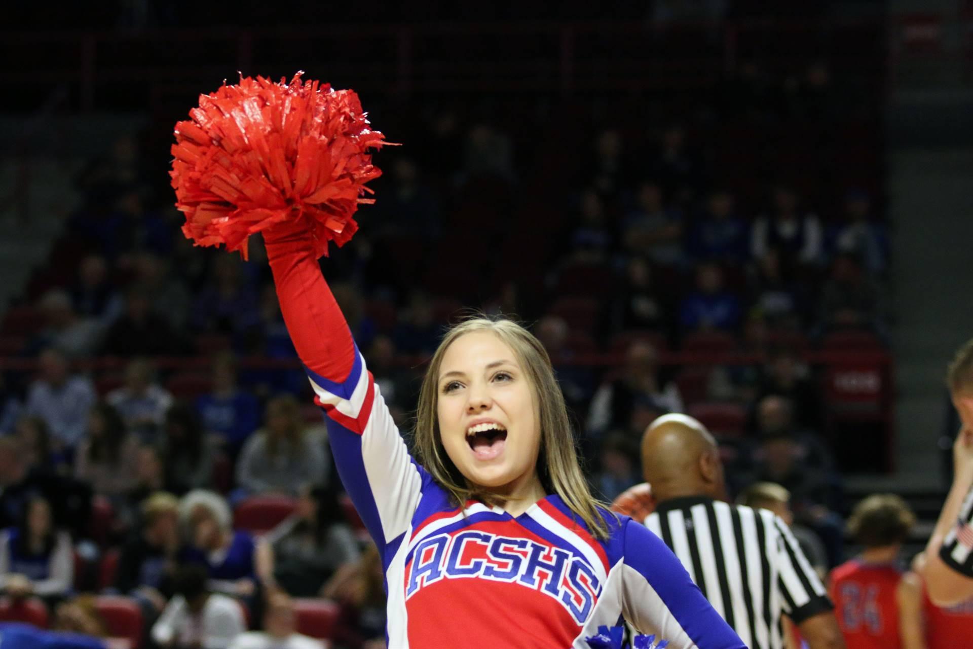 ACS cheerleader