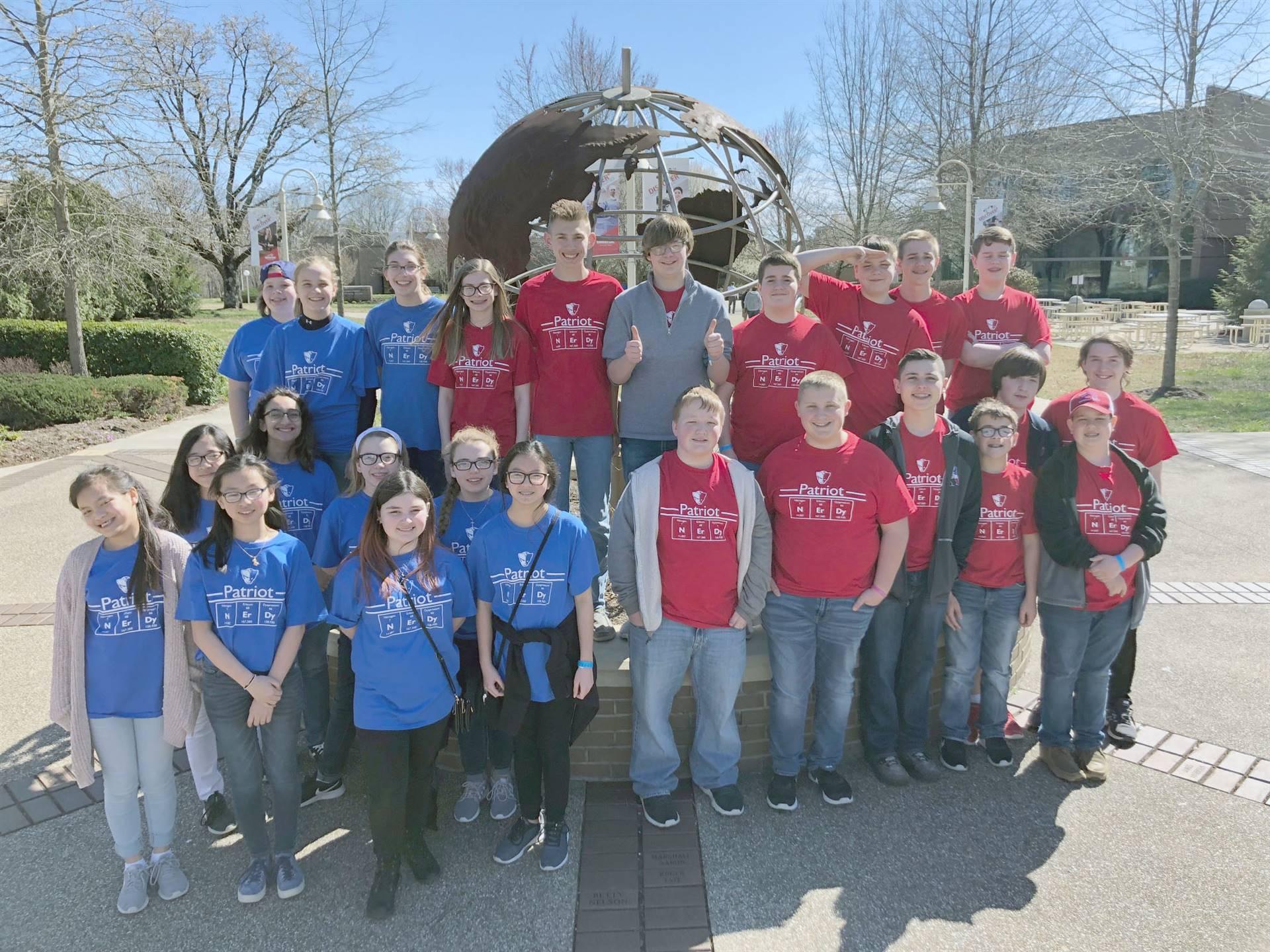 Science Olympiad teams