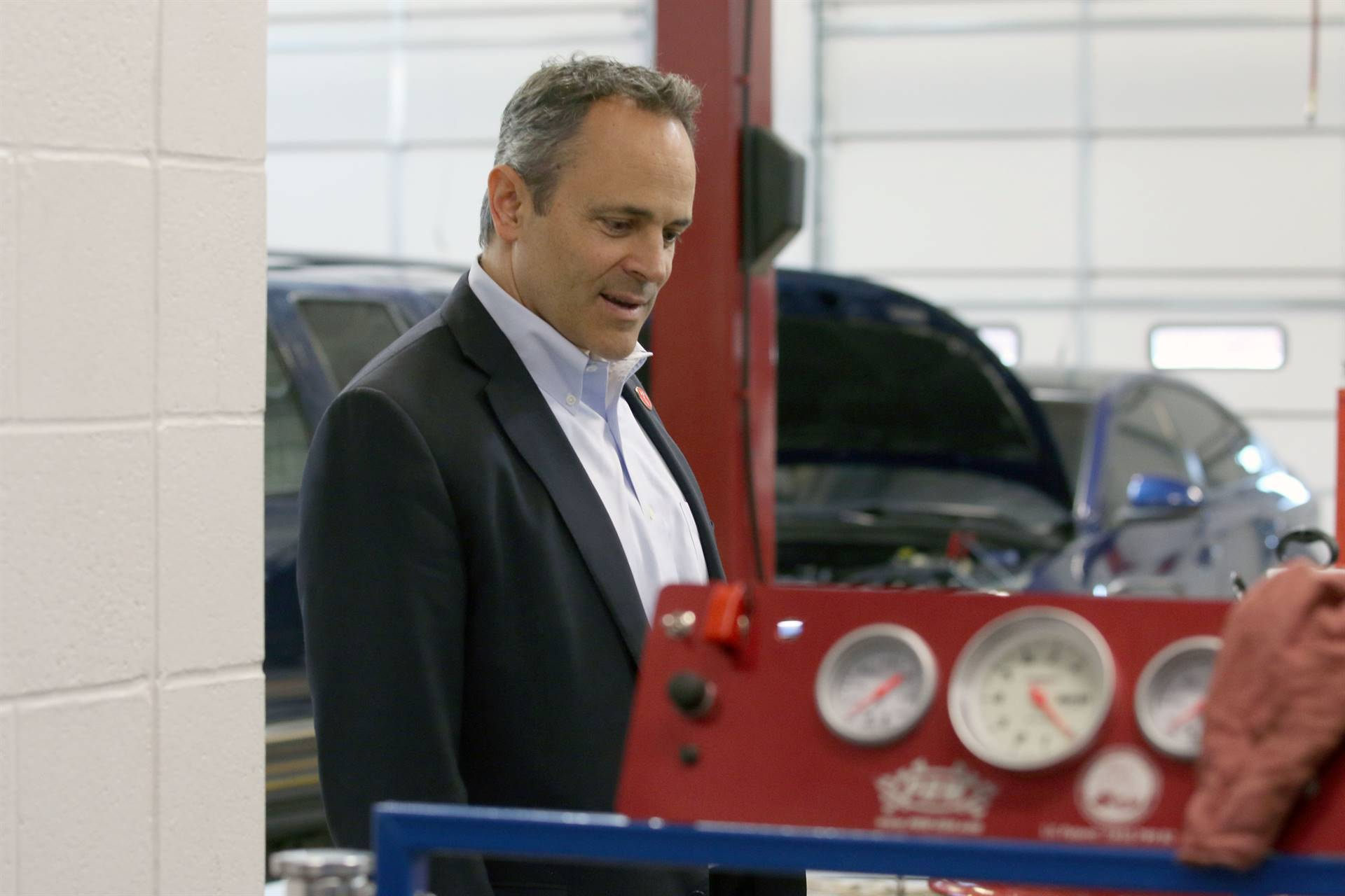 Visit from Governor Matt Bevin