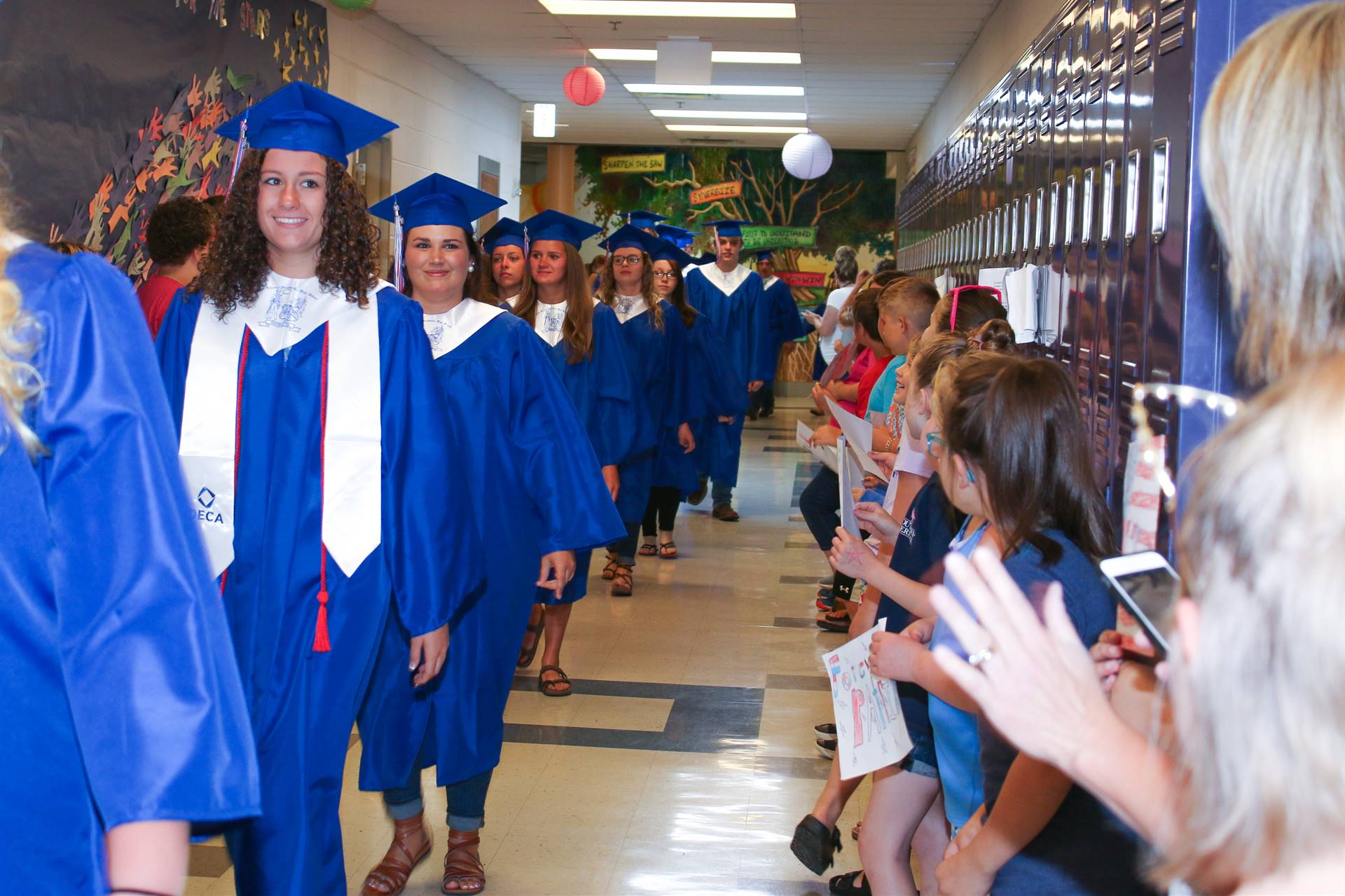 Graduation Walk 2019
