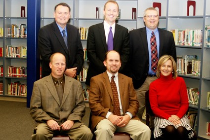 Sitting: Mr. Justin Marsh, Mr. Randall Jackson, Mr. Jeff Eaton Standing: Mr. Billy Turner, Mr. Al Barman, Ms. Beth Edwardson