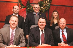 Sitting: Mr. Al Barman, Mr. Randall Jackson, Mr. Justin Marsh Standing: Mr. Brian Celsor, Mr. Billy Turner, Ms. Stephanie Ashby